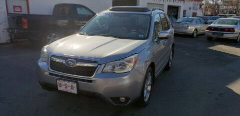 2015 Subaru Forester for sale at Union Street Auto in Manchester NH