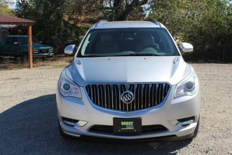 2014 Buick Enclave for sale at Bailey & Sons Motor Co in Lyndon KS