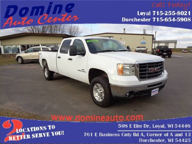 2008 GMC Sierra 2500HD for sale at Domine Auto Center - commercial vehicles in Loyal WI
