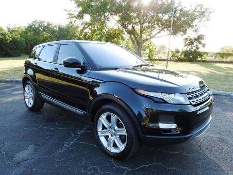 2015 Land Rover Range Rover Evoque for sale at SUPER DEAL MOTORS 441 in Hollywood FL