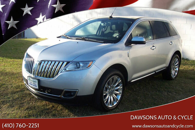 2011 Lincoln MKX for sale at Dawsons Auto & Cycle in Glen Burnie MD