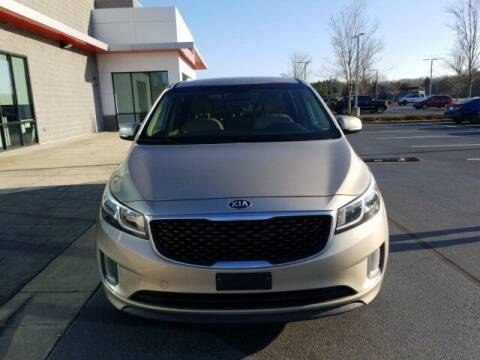 2016 Kia Sedona for sale at Lou Sobh Kia in Cumming GA