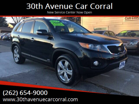 2012 Kia Sorento for sale at 30th Avenue Car Corral in Kenosha WI