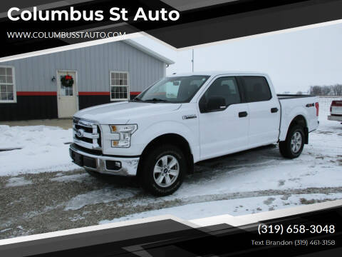 2016 Ford F-150 for sale at Columbus St Auto in Crawfordsville IA