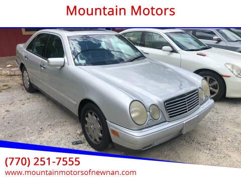 1997 Mercedes-Benz E-Class for sale at Mountain Motors in Newnan GA