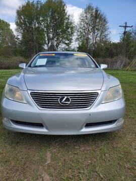 2007 Lexus LS 460 for sale at CAPITOL AUTO SALES LLC in Baton Rouge LA