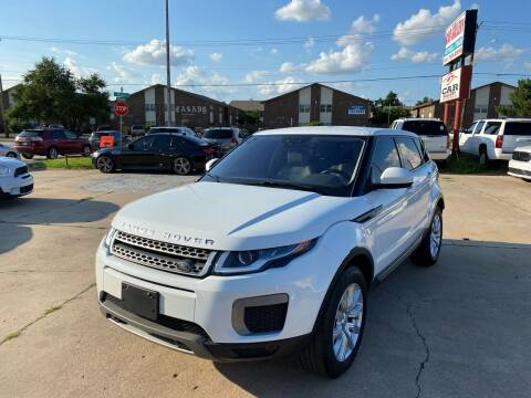 2016 Land Rover Range Rover Evoque for sale at Car Gallery in Oklahoma City OK