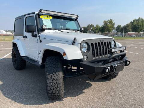 2016 Jeep Wrangler for sale at AP Auto Brokers in Longmont CO