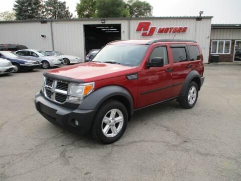 2007 Dodge Nitro for sale at RJ Motors in Plano IL