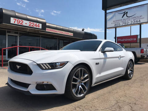 2016 Ford Mustang for sale at NORRIS AUTO SALES in Oklahoma City OK