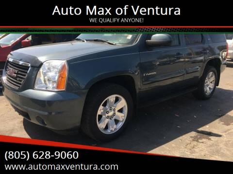 2007 GMC Yukon for sale at Auto Max of Ventura in Ventura CA