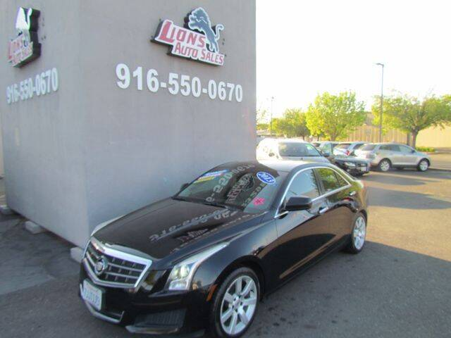 2013 Cadillac ATS for sale at LIONS AUTO SALES in Sacramento CA