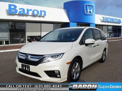 2019 Honda Odyssey for sale at Baron Super Center in Patchogue NY