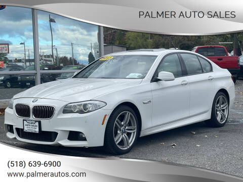 2013 BMW 5 Series for sale at Palmer Auto Sales in Menands NY