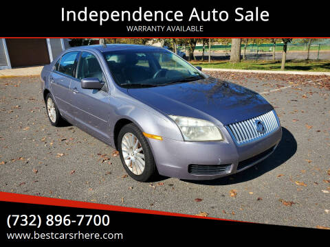 2006 Mercury Milan for sale at Independence Auto Sale in Bordentown NJ