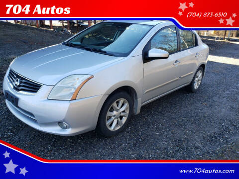 2010 Nissan Sentra for sale at 704 Autos in Statesville NC
