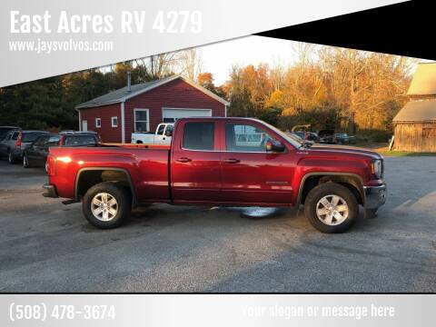 2016 GMC Sierra 1500 for sale at East Acres RV 4279 in Mendon MA