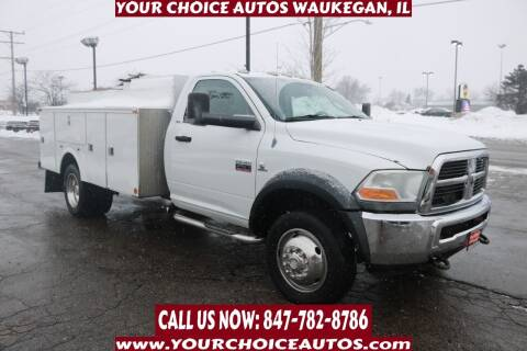 2012 RAM Ram Chassis 4500 for sale at Your Choice Autos - Waukegan in Waukegan IL