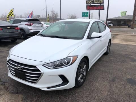 2018 Hyundai Elantra for sale at Ital Auto in Oklahoma City OK