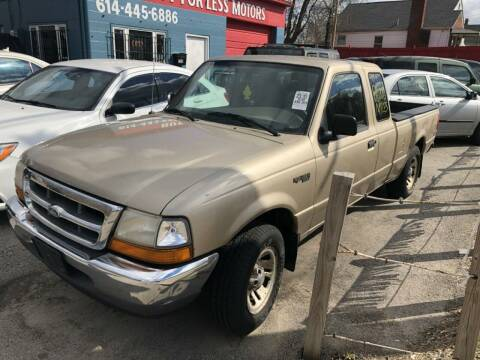 1999 Ford Ranger for sale at Buy For Less Motors, Inc. in Columbus OH