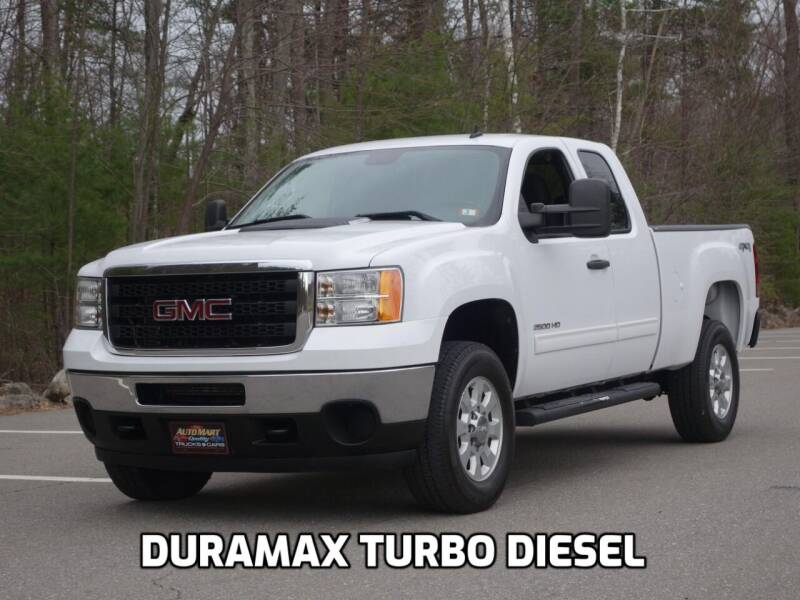 2011 GMC Sierra 2500HD for sale at Auto Mart in Derry NH