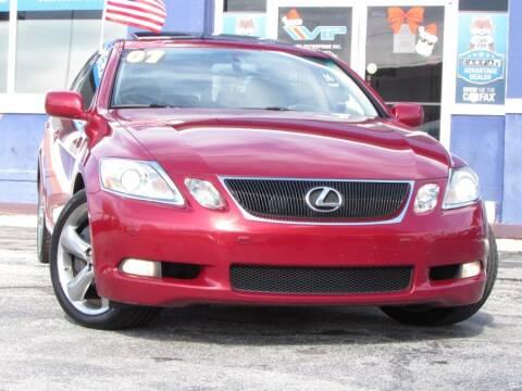 2007 Lexus GS 350 for sale at VIP AUTO ENTERPRISE INC. in Orlando FL