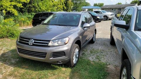 2011 Volkswagen Touareg for sale at Clare Auto Sales, Inc. in Clare MI