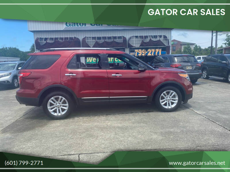 2014 Ford Explorer for sale at Gator Car Sales in Picayune MS