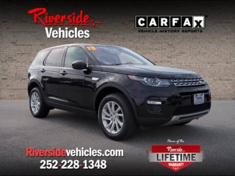 2018 Land Rover Discovery Sport for sale at Riverside Mitsubishi(New Bern Auto Mart) in New Bern NC