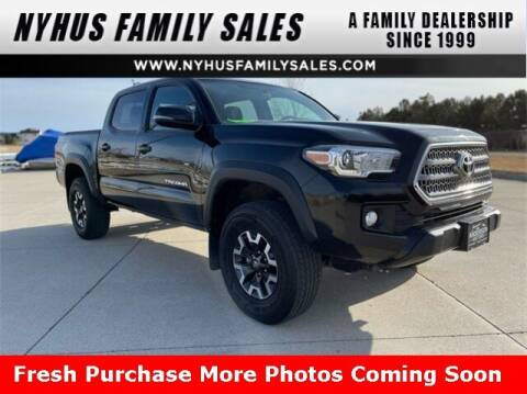 2017 Toyota Tacoma for sale at Nyhus Family Sales in Perham MN