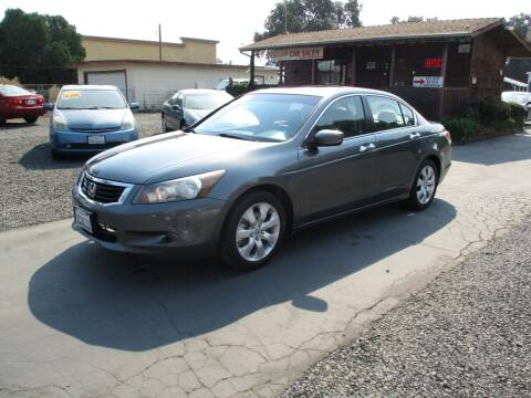 2008 Honda Accord for sale at Manzanita Car Sales in Gridley CA