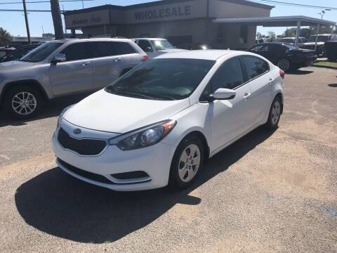 2016 Kia Forte for sale at Advance Auto Wholesale in Pensacola FL
