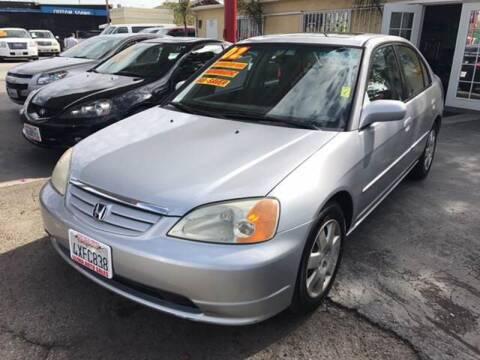 2002 Honda Civic for sale at Auto Emporium in Wilmington CA
