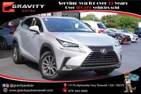 2018 Lexus NX 300 for sale at Gravity Autos Roswell in Roswell GA