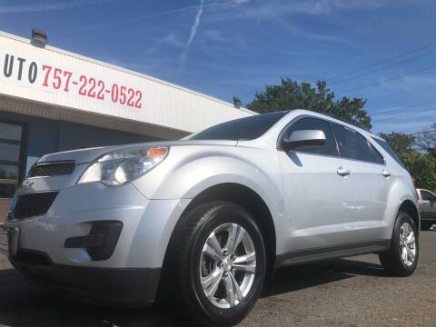 2013 Chevrolet Equinox for sale at Trimax Auto Group in Norfolk VA
