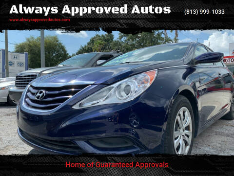 2012 Hyundai Sonata for sale at Always Approved Autos in Tampa FL