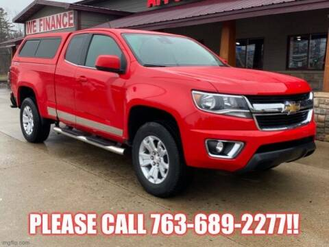 2017 Chevrolet Colorado for sale at Affordable Auto Sales in Cambridge MN