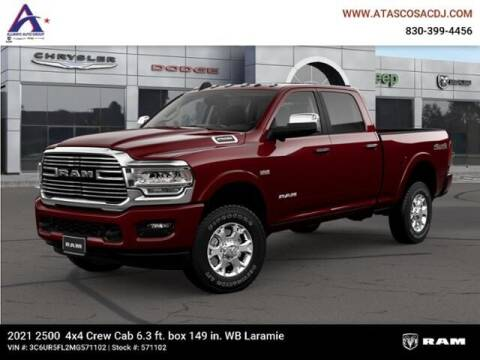 2021 RAM Ram Pickup 2500 for sale at ATASCOSA CHRYSLER DODGE JEEP RAM in Pleasanton TX