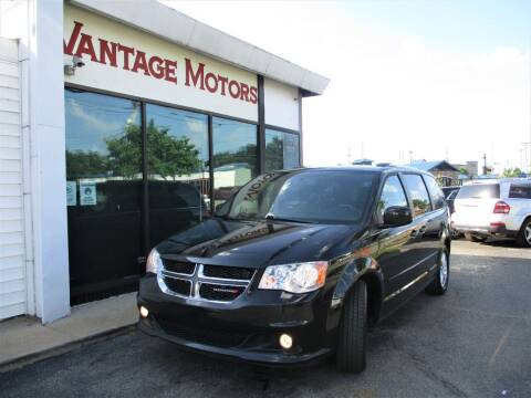 2017 Dodge Grand Caravan for sale at Vantage Motors LLC in Raytown MO