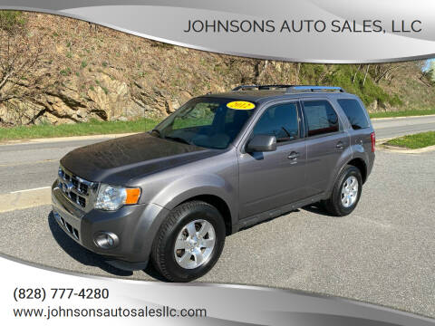 2012 Ford Escape for sale at Johnsons Auto Sales, LLC in Marshall NC