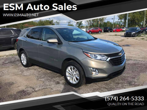 2018 Chevrolet Equinox for sale at ESM Auto Sales in Elkhart IN