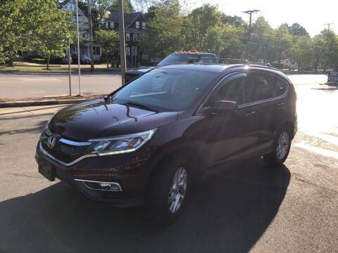2015 Honda CR-V for sale at Regans Automotive Inc in Auburndale MA