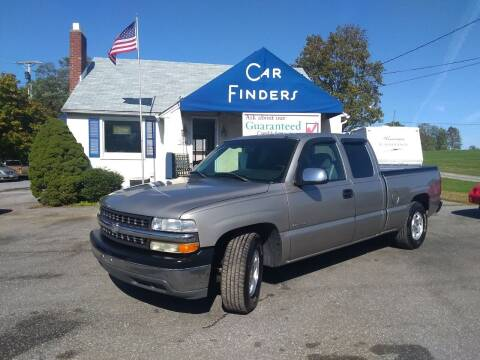 2002 Chevrolet Silverado 1500 for sale at CAR FINDERS OF MARYLAND LLC in Eldersburg MD