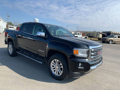 2016 GMC Canyon for sale at BULL MOTOR COMPANY in Wynne AR