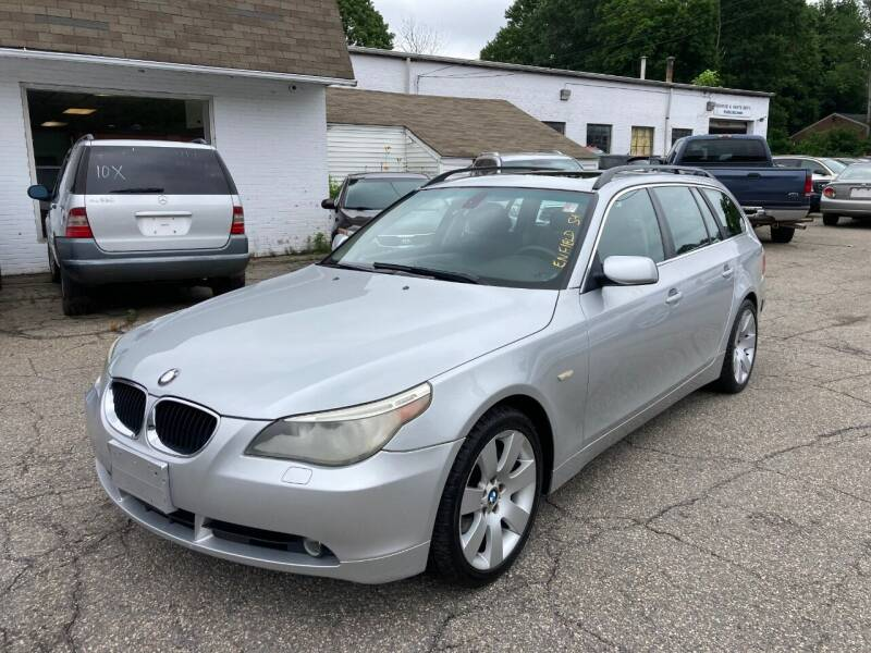 2006 BMW 5 Series for sale at ENFIELD STREET AUTO SALES in Enfield CT