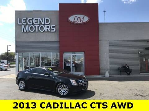 2013 Cadillac CTS for sale at Legend Motors of Detroit - Legend Motors of Ferndale in Ferndale MI