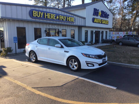 2015 Kia Optima for sale at Bi Rite Auto Sales in Seaford DE