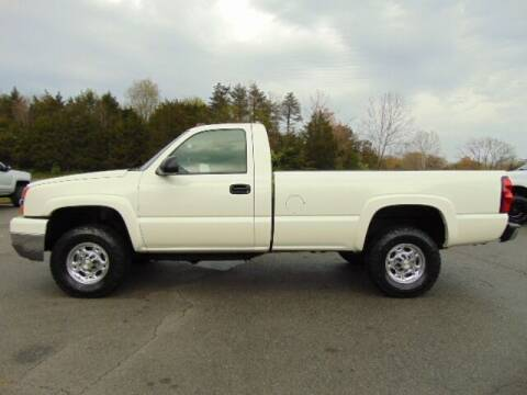 2004 Chevrolet Silverado 2500HD for sale at E & M AUTO SALES in Locust Grove VA
