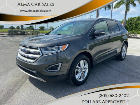 2016 Ford Edge for sale at Alma Car Sales in Miami FL