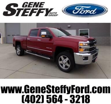 2018 Chevrolet Silverado 2500HD for sale at Gene Steffy Ford in Columbus NE